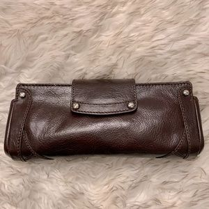 NWT Cole Haan Leather Clutch